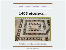 Tablet Preview of 1405etcetera.org